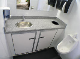 sink and urinal