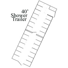shower trailer outline