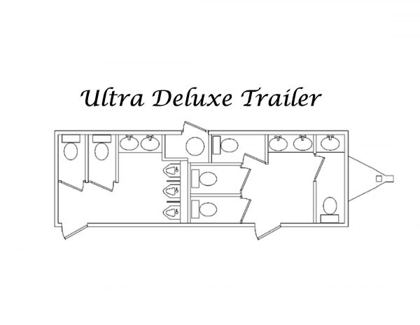 floorplan for luxury restroom trailer