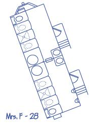 floor plan for restroom trailer